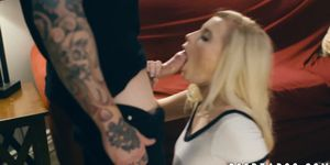 Young babe Carolina Sweets fucks hard for cum in mouth