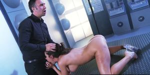 Brazzers - Shes Gonna Squirt - Aleksa Nicole and Keiran Lee -  Hosing Down the Deck