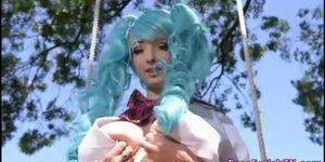 Real Life Hentai Girl Masturbation - FreeFetishTVcom