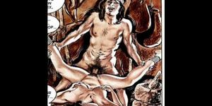Comics: Interracial Hardcore Sex Comics