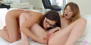 Lesbian sex on Sapphic Erotica with Anina Silk Jada Jones Porn Videos