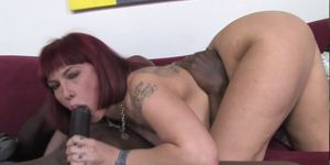 Son watching how mom Carrie Ann gets fucked by a BBC