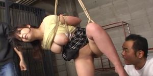 Clothed Asian MILF Bound Stripped And Groped
