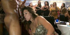 CFNM amateurs cock sucking stripper