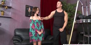 Hot Petite Jessi Palmer Gets Pounded