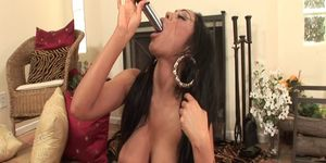 WANKZ- Priya Rai Orgasms Using Dildo