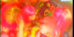 Lusty Busty Dolls - Scene 1