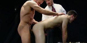 Barebacking mormon jizzes