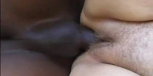 Interracial sex with fat BBW and black guy