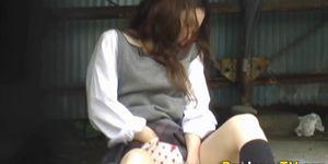 일본의 십대 아기 오줌