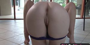 Girls Out West - Hairy pussy lesbian orgasm