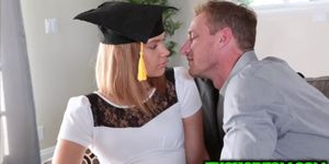 Graduation photoshoot turns into steamy fuck for Kendall Kross