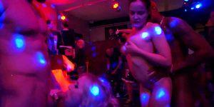 DRUNKSEXORGY - Shameless pornstars fucked in public at sex party