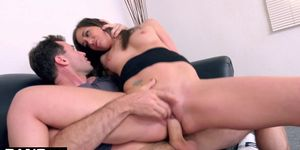 BANG Casting Gia Paige Throat fucked And Loving it