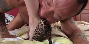 FOOT FETISH DAILY - Piper Perri foot fetish