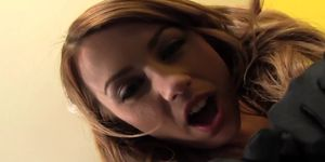 Lexi Belle Spinning On A Dick