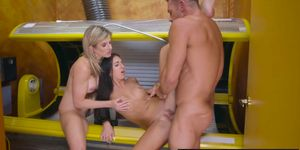 Brazzers - Milfs Like it Big - Tight And Tanned Part 2 scene starring Aubrey Rose