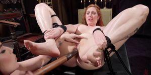 Lesbian Anal Slave