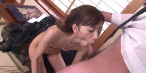 Deep penetration pussy sex with hot Kanon Hanai
