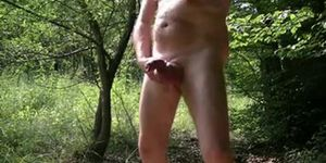 old Daddy alone in the Forest