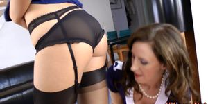Stockings brit pounded Porn Videos