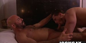 Gay daddy fucking hard a cute escorts butt hole