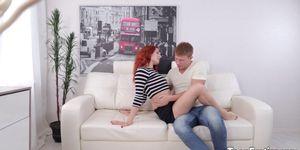 Redhead is sodomized Porn Videos