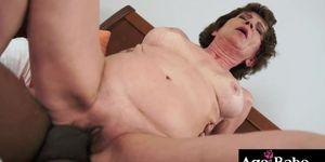 Katalas sexual fantasy is now a reality, having Carlos huge cock in her twat