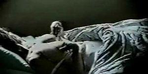 milf masturbate on bed in the night. Hidden cam