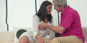Coco de Mal fucked by an old guy