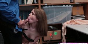 Cute Brunette Teen Is Ready For Her Punishment