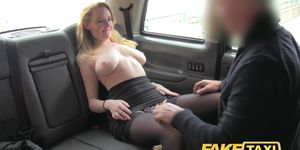 Fake Taxi Hot babe in heels with big natural tits