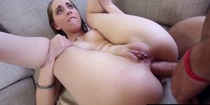 Nickey Huntsman takes big dick in her ass
