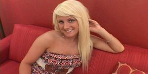 Cali Westbrook gets filled up with a big load of semen