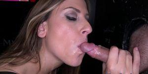 Milf Rachel Rayyes black cock facial