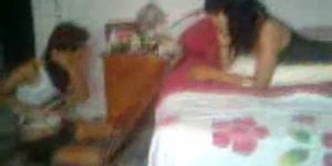 Mexican woman bed nude