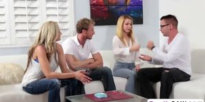 Magnificent phrase Couples swapping orgy mine, not