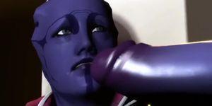 Widowmaker fucks Aria