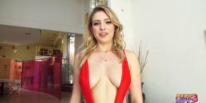 PervCity Blonde Anal Slut Giselle Palmer