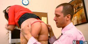 Perfect Tits Blonde Inter Rides Bosses Thick Long Cock Chanel Preston
