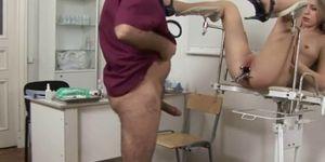 Fat Doctor Bangs Blonde Patient