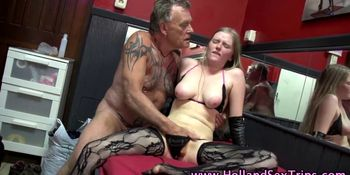 Real hooker fucked and cummed on