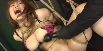 Extreme Asian BDSM Threesome With Toys