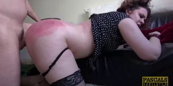 PASCALSSUBSLUTS - Plump sub Mesmer Rose submits to big cock