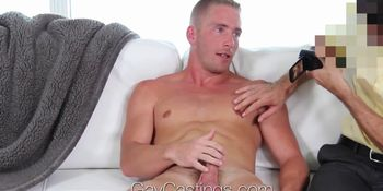 GayCastings Casting agent fucks muscular guy