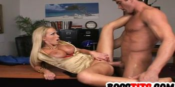 Stacked Boss Nikki Benz Gives Special Lessons