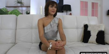 Galina Galkina loves anal and visits privates casting couch
