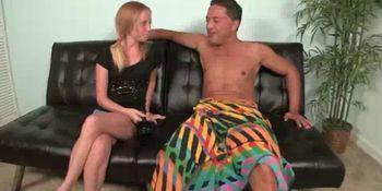 Teen Wants His Big Boner Sliding Into Her Pussy
