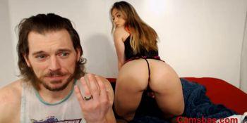 Super Hot Couple on live cam