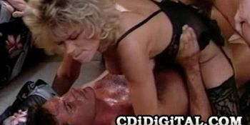 Kimberly Kane - Blonde Cougar Gets Double Penetration